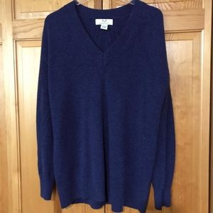 MAGASCHONI 100% Cashmere Mens Sweater Med $340